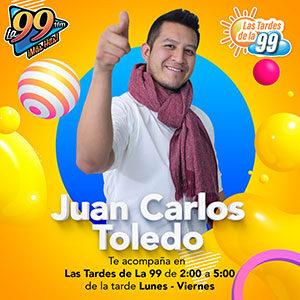 Juan Carlos Toledo Las tardes de la 99